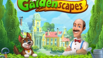 Gardenscapes New Acres Install 400x225 - Install Gardenscapes and enjoy the new features